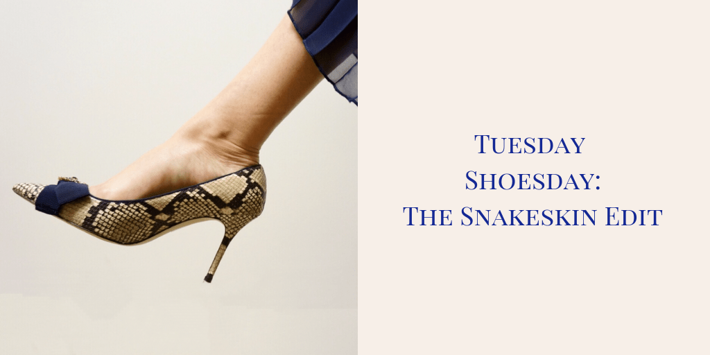 My 9 to 5 Shoes my9to5shoes.com Tuesday Shoesday Snakeskin Pumps