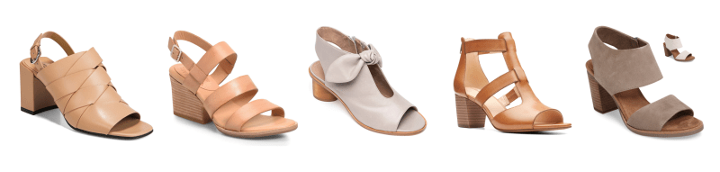 My 9 to 5 Shoes Summer Sandal Edit (the cage neutrals)
