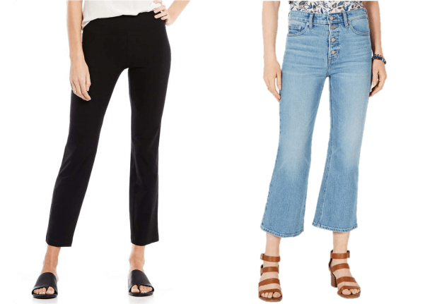 Should your crop pants be slim or wide? Find out in this post!!