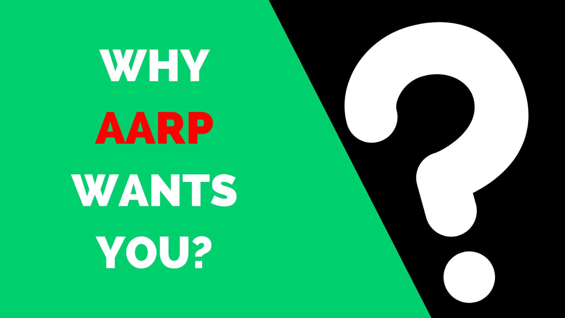 Aarp Health Insurance >> Aarp Health Insurance Why Aarp Wants You