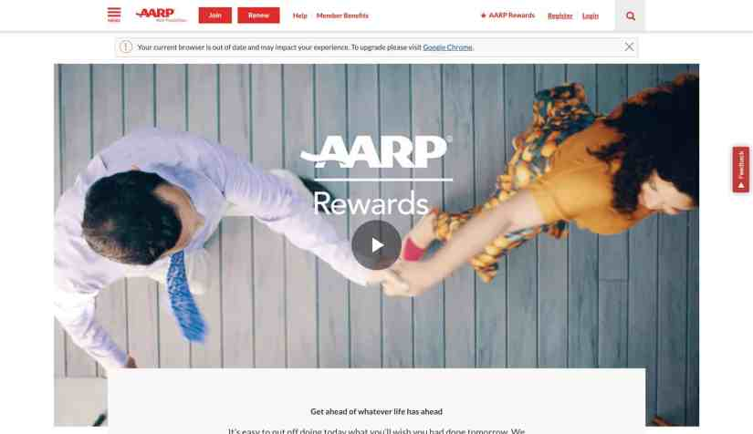 AARP.ORG - Official Website of AARP Rewards for Good