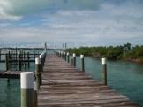 Crystal Villas Elbow Cay Vacation Rental dock view