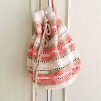 Seaside handbag free crochet pattern