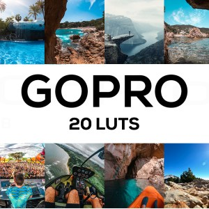 GoPro 20 LUTs Pack