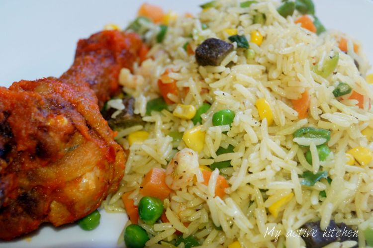 how to cook nigerian rice