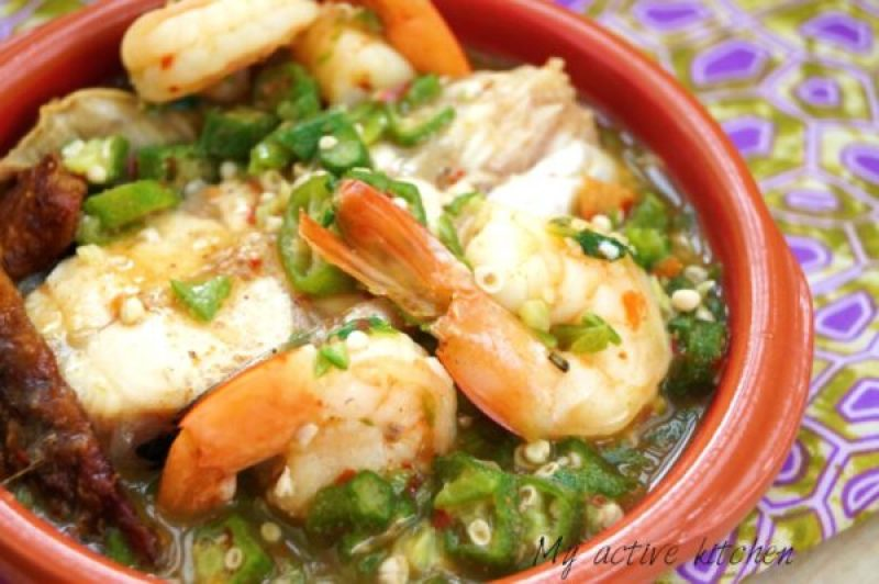 how-to-make-okra-pepper-soup