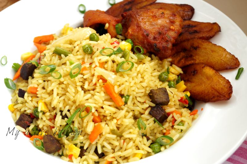 how to cook nigerian coconut fried rice