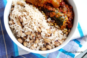 coconut rice and beans