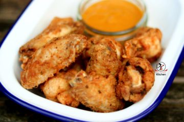 fry chicken wings crispy