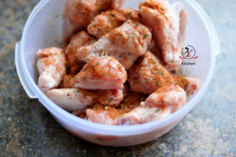 bake chicken wings
