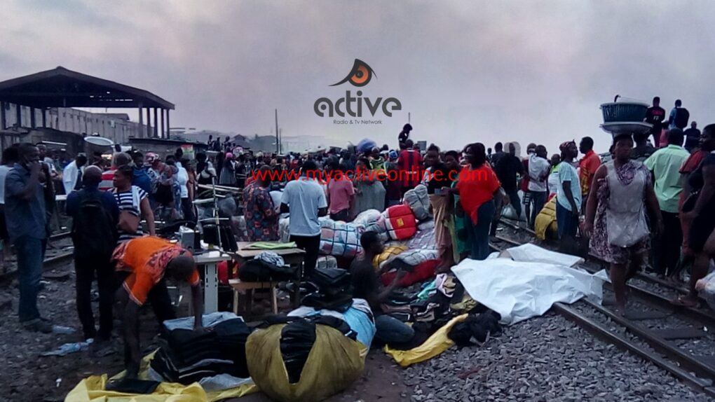 1000s Lose Properties As Another Fires Razes Down Kantamanto