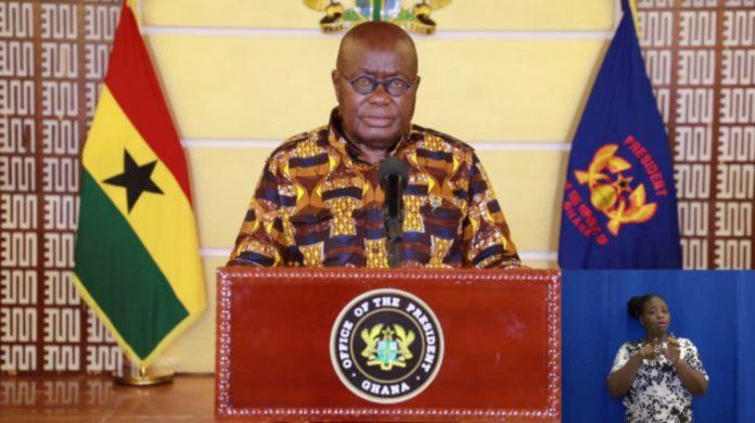 Full text: Akufo-Addo's 20th address on updates to fight coronavirus