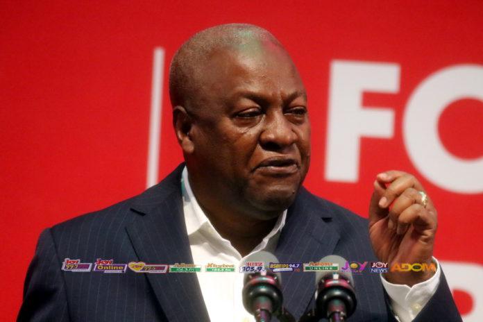 Full text: Mahama's 'standing on principle' speech