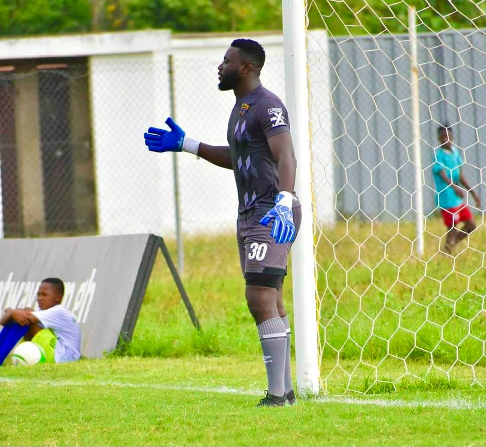 Hearts fans unleash verbal attacks on family of Richard Attah as goalkeeper pleads for mercy