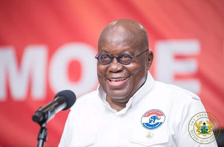 Video: Akufo-Addo slips, campaigns for Nii Lante Vandapuye instead of Bannerman