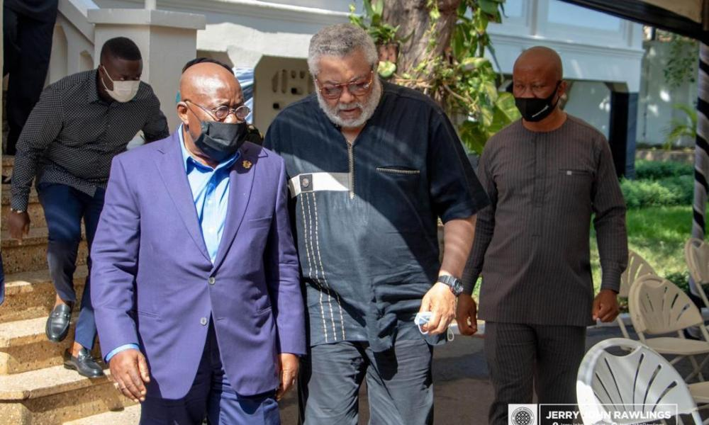 EXCLUSIVE Revelation: Rawlings endorsed Akufo-Addo's 2nd term before he died