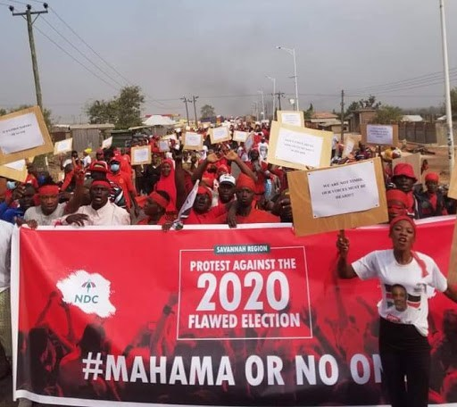 NDC sets Savannah Region on 'fire' over 'flawed' 2020 Election; vow to make Mahama President