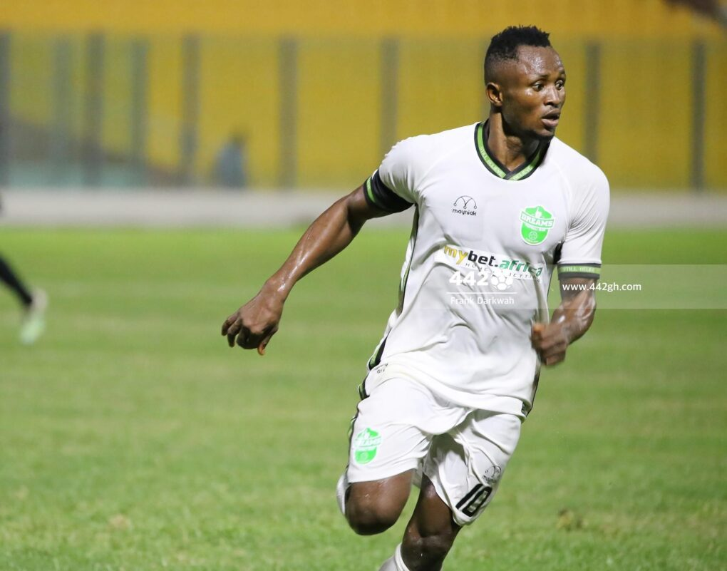 Joseph Esso has no regrets joining Dreams FC from Hearts of Oak
