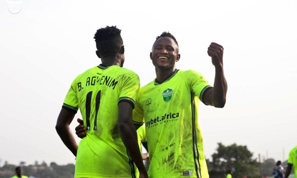 Joseph Esso scores double in Dreams' win over Aduana at Dawu