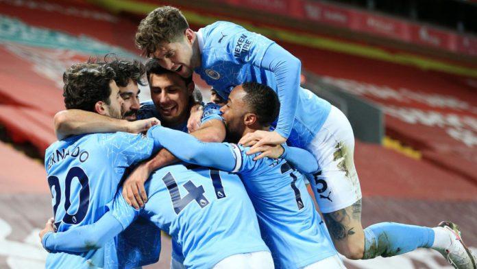PL: Man City score four to leave Liverpool 10 points adrift