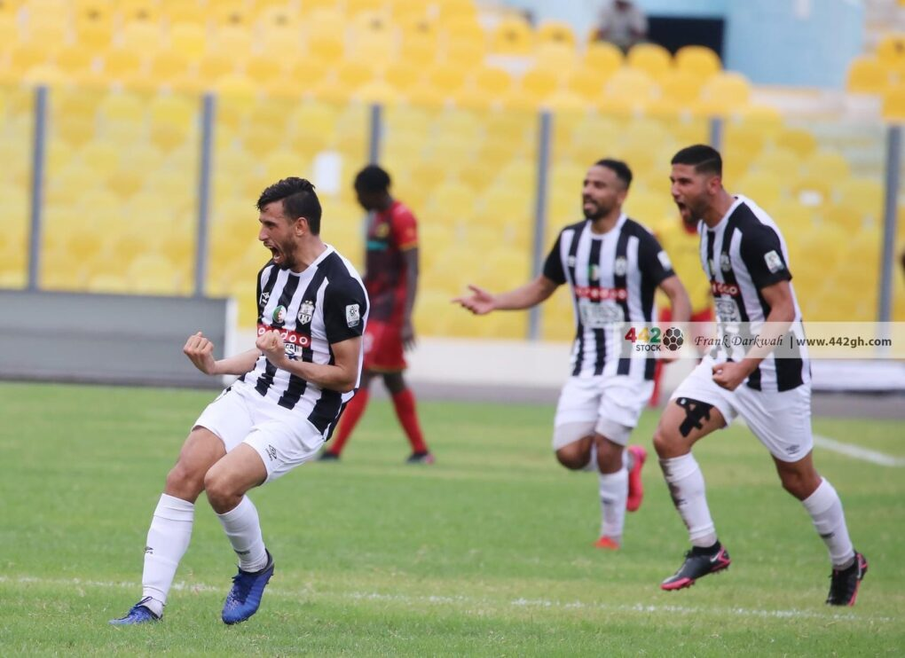 Algerian side ES Setif chooses Accra Sports Stadium as home venue for CAF Confed. Cup group opener against Orlando Pirates