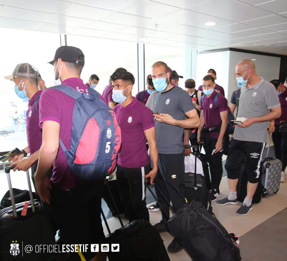 ES Setif and Orlando Pirates arrive in Ghana for CAF Confederation Cup group opener