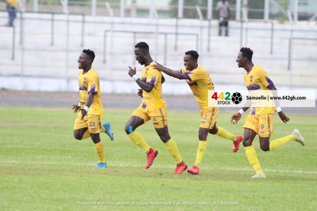 GPL Round-Up: Kotoko Stunned, Hearts Held At Anyinase, Olympics And Bechem United Humiliated And More From Match Day 21