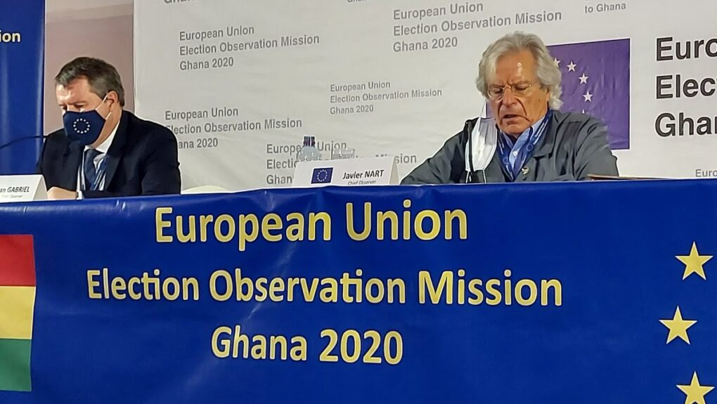 EU Delivers Report And Recommendations On Ghana's 2020 Elections
