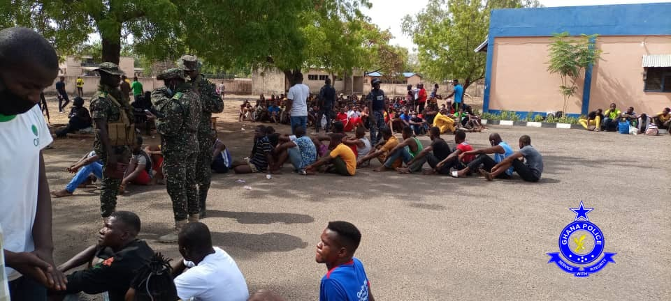 507 Illegal Immigrants Arrested At Bolgatanga