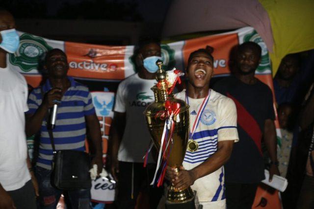 Jubilant Kingdom FC skipper