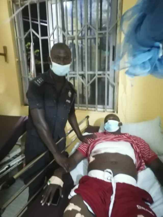 Thomas Akoka - Police Officer shot while on escort duty