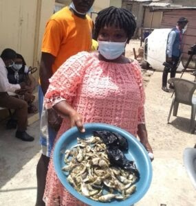 Osu residents adamant to visit hospital after eating fishes washed ashore
