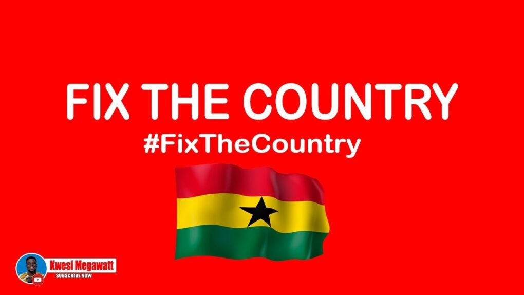 Ghanaian Youth Up In 'Arms' Against Government As #FixTheCountry Tops Twitter Trends