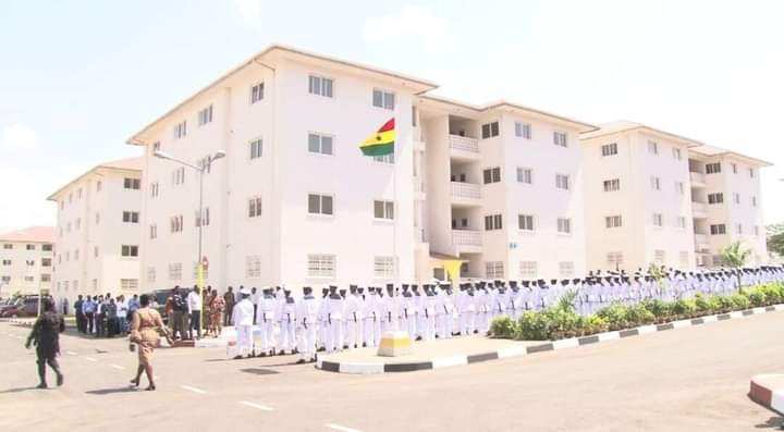 Tema: Ministry Of Works And Housing Completes 368 Apartments Under The Security Housing Project At Eastern Naval Command