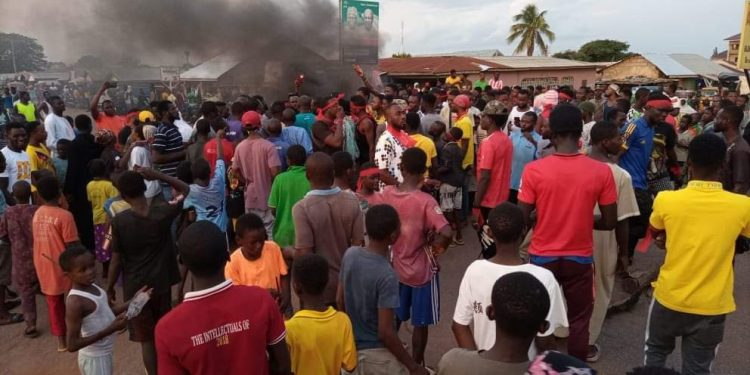 Ejura: Residents hit the streets over the killing of social media activist