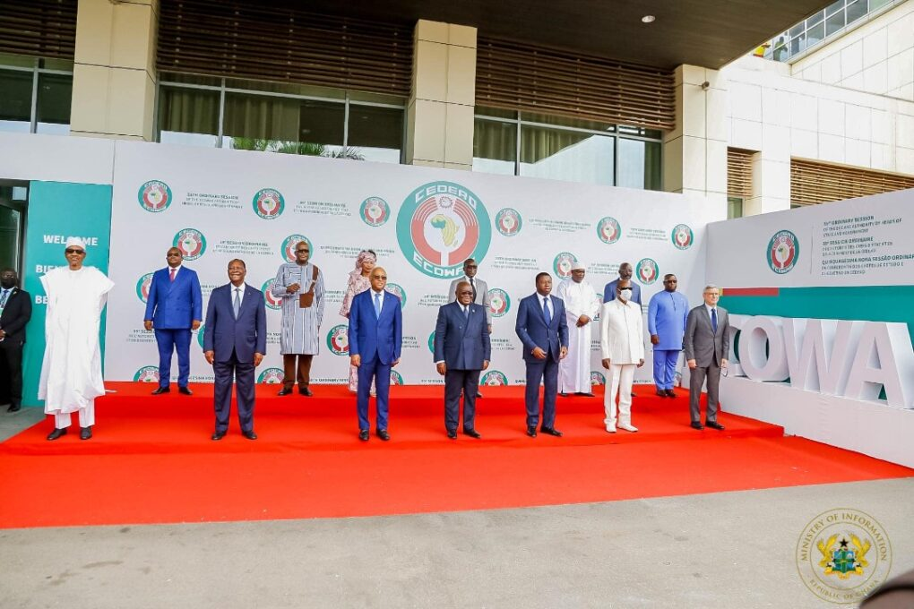 Let us form a strong alliance to terrorism – Akufo-Addo to ECOWAS leaders