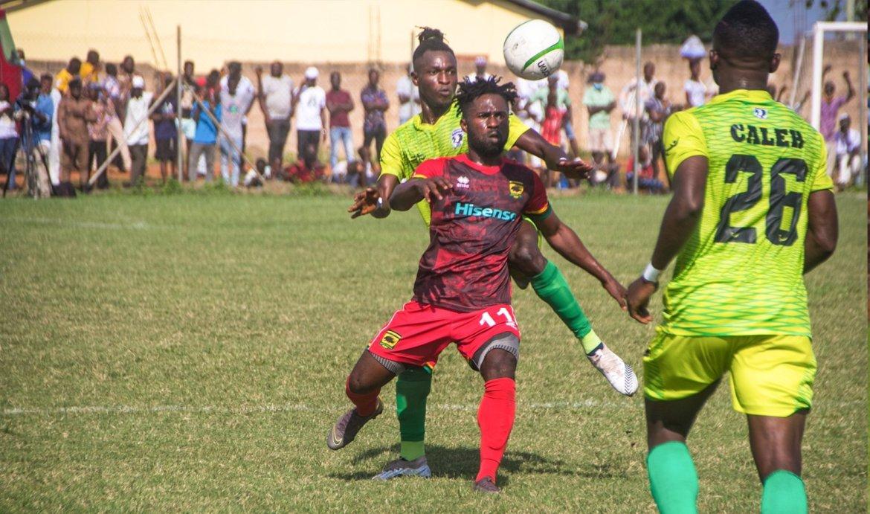 Bechem United beat Kotoko to secure premiership status