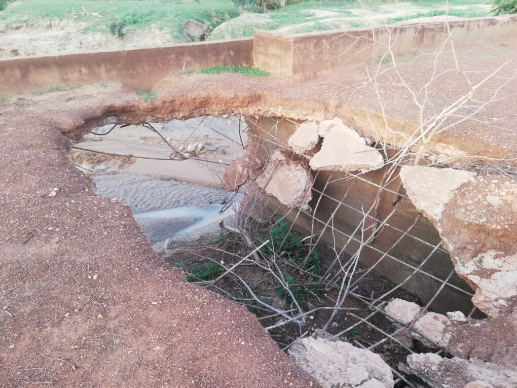 Deadly bridge- Sirigu residents cry for support to fix deathtrap