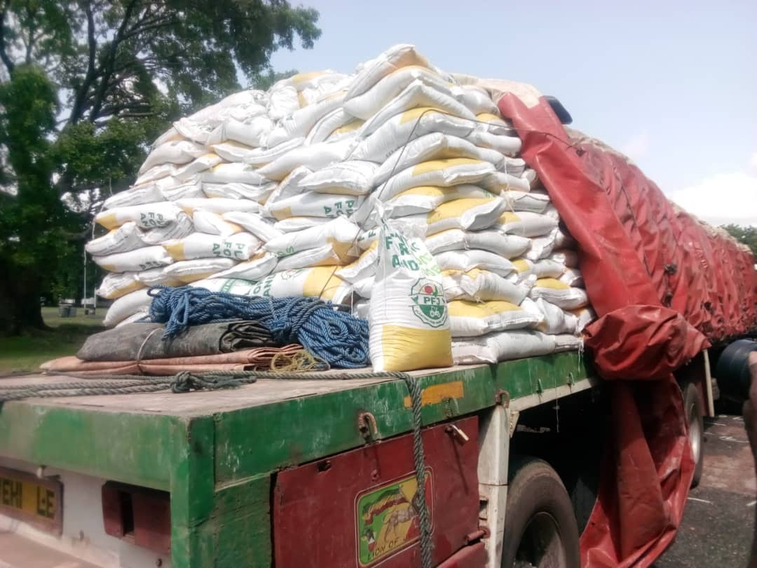 We have not escorted any smuggled Planting for Food and Jobs fertilizer to Burkina Faso – Police