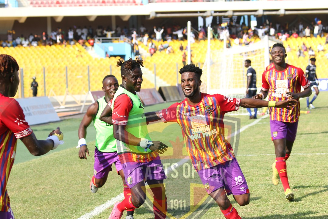 It is PHOBIA: Hearts of Oak are Champions of Ghana