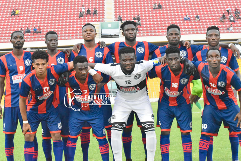 Legon Cities survive relegation with a 3-2 win