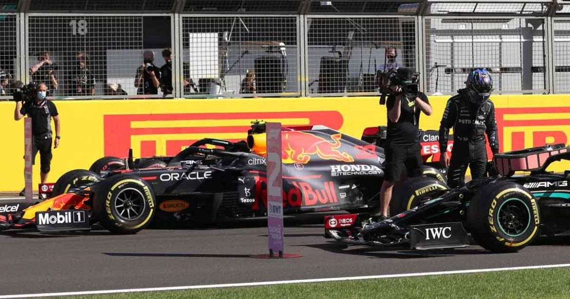 Max Verstappen accuses Lewis Hamilton of unsportsmanlike behaviour for causing collision at British Grand Prix