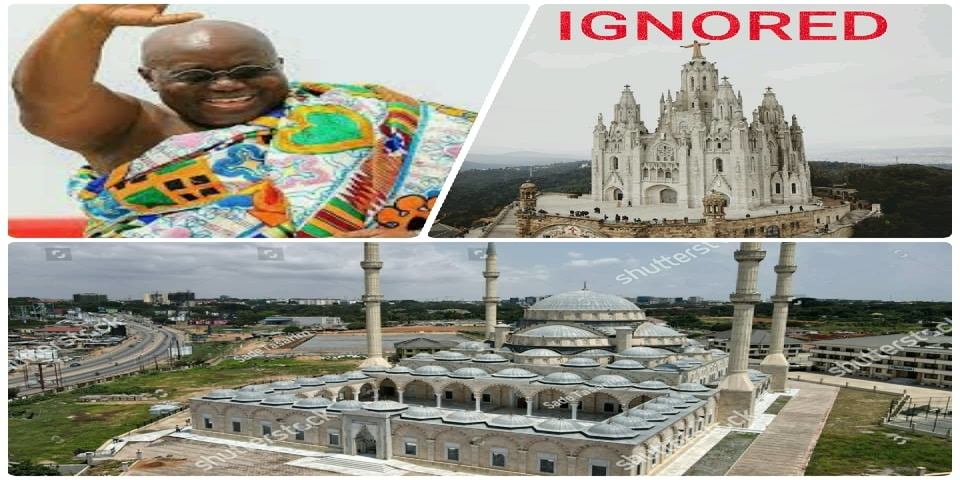Are Muslims and Christians angry with Akufo-Addo?