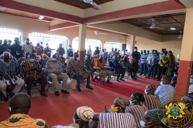 President Akufo-Addo urges stakeholders to consolidate peace in Dagbon