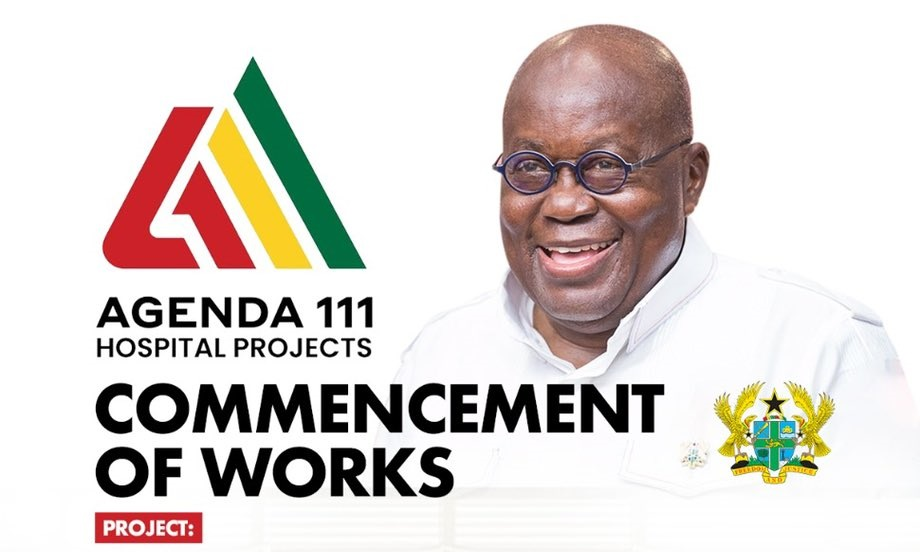 Akufo-Addo to cut sod for Agenda 111 project today