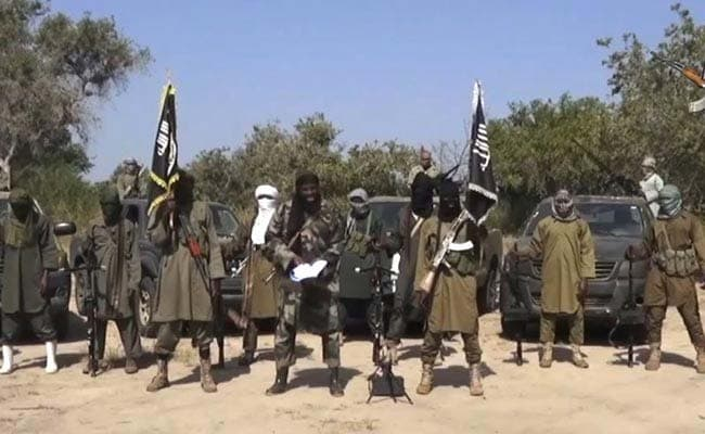 Over 100 Boko Haram fighters surrender to the Nigerian Army