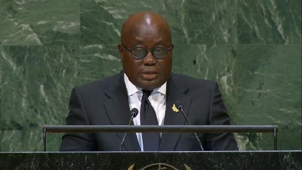 President Akufo-Addo condemns Guinea coup-makers at UN General Assembly