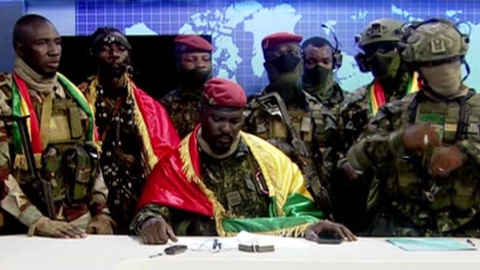 ECOWAS threatens sanctions against Guinea if they do not return the nation to constitutional order