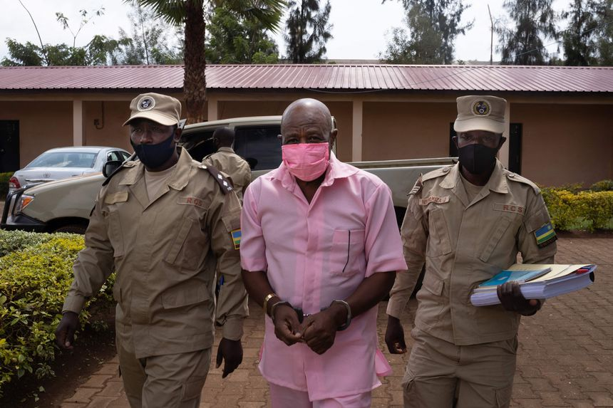 Hotel Rwanda hero convicted of terror-related charges faces possible life imprisonment