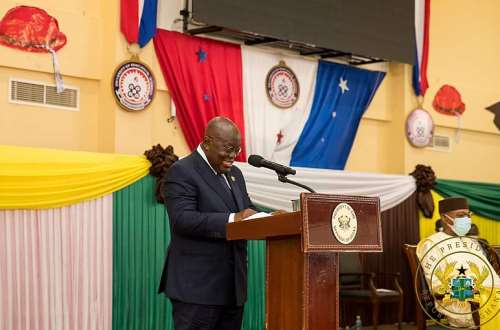 Coming to power via any other means than the ballot box is wholly unacceptable – Akufo-Addo